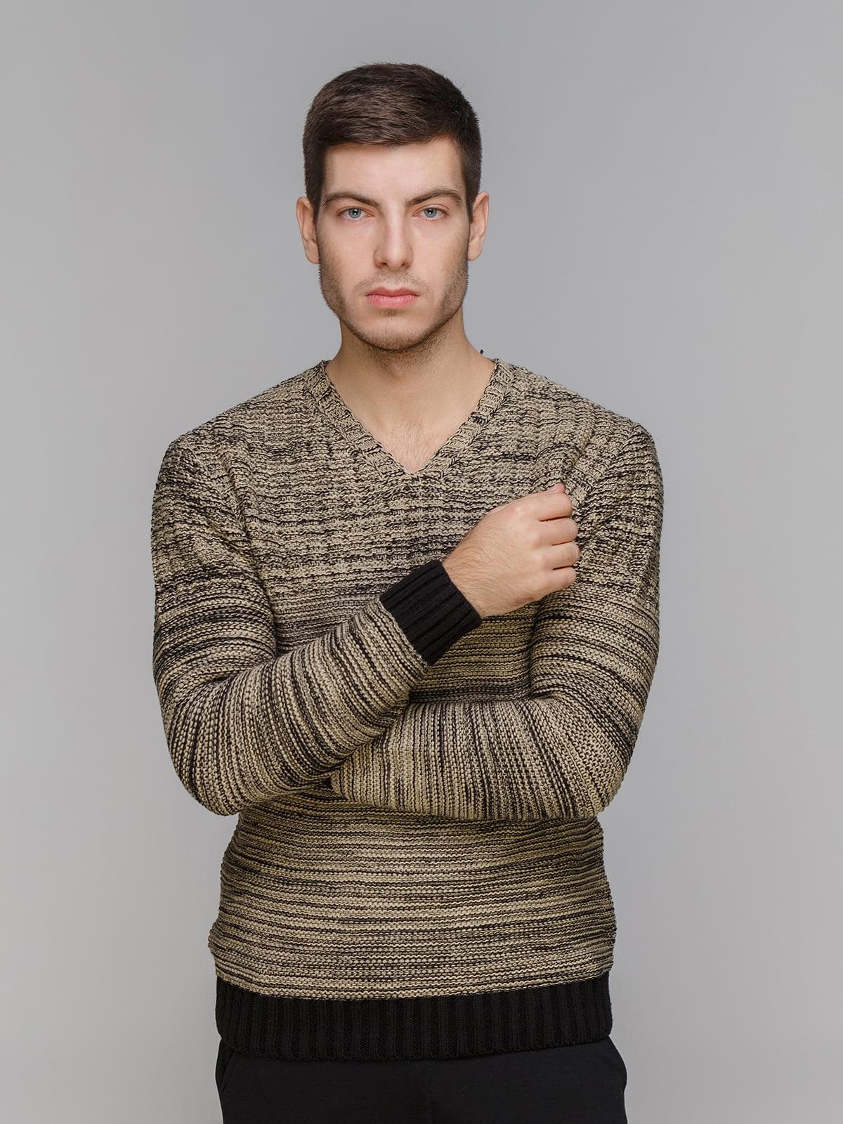 Пуловер кавового кольору   5241066