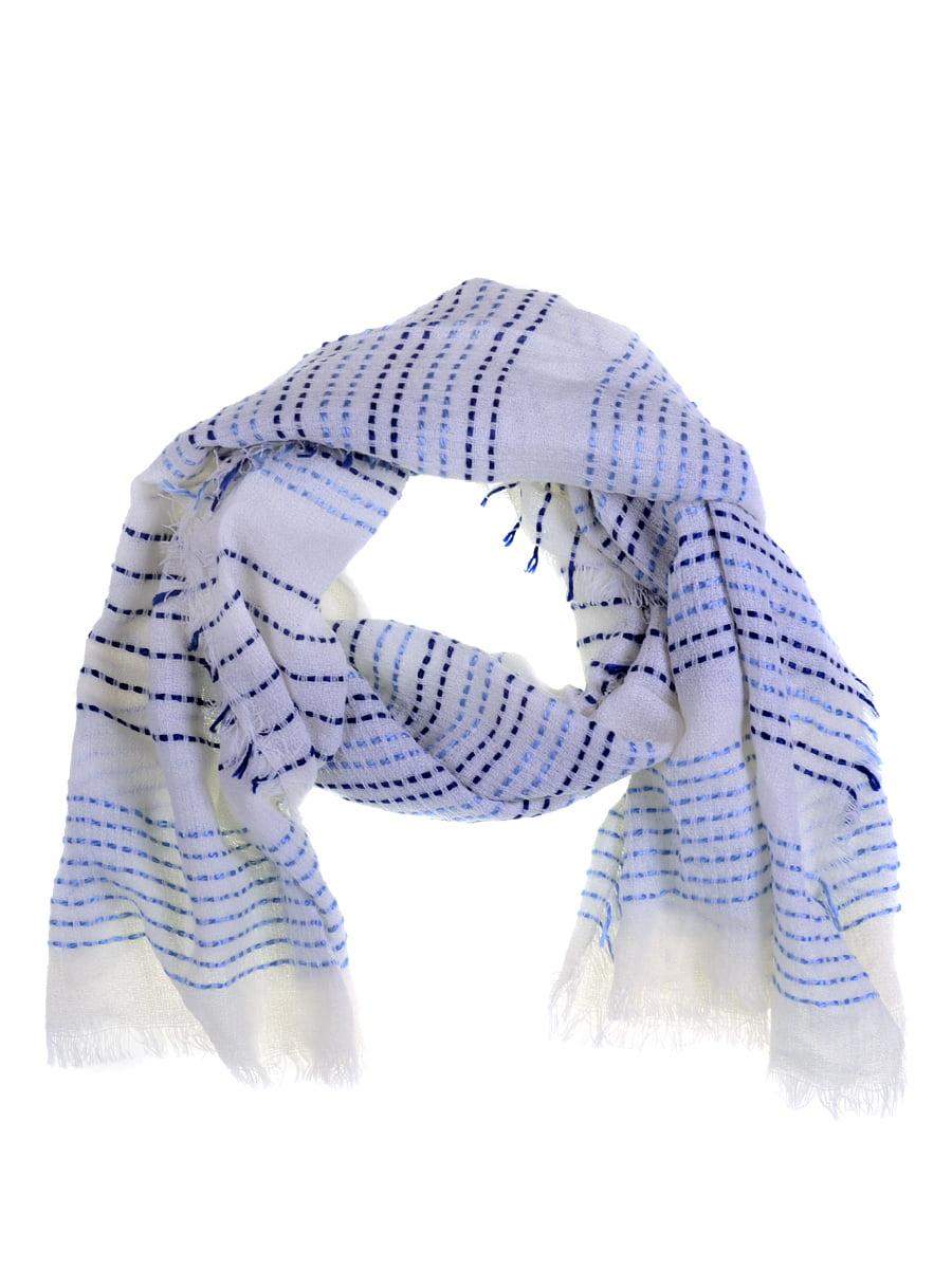 Шарф молочно-голубой   5256986