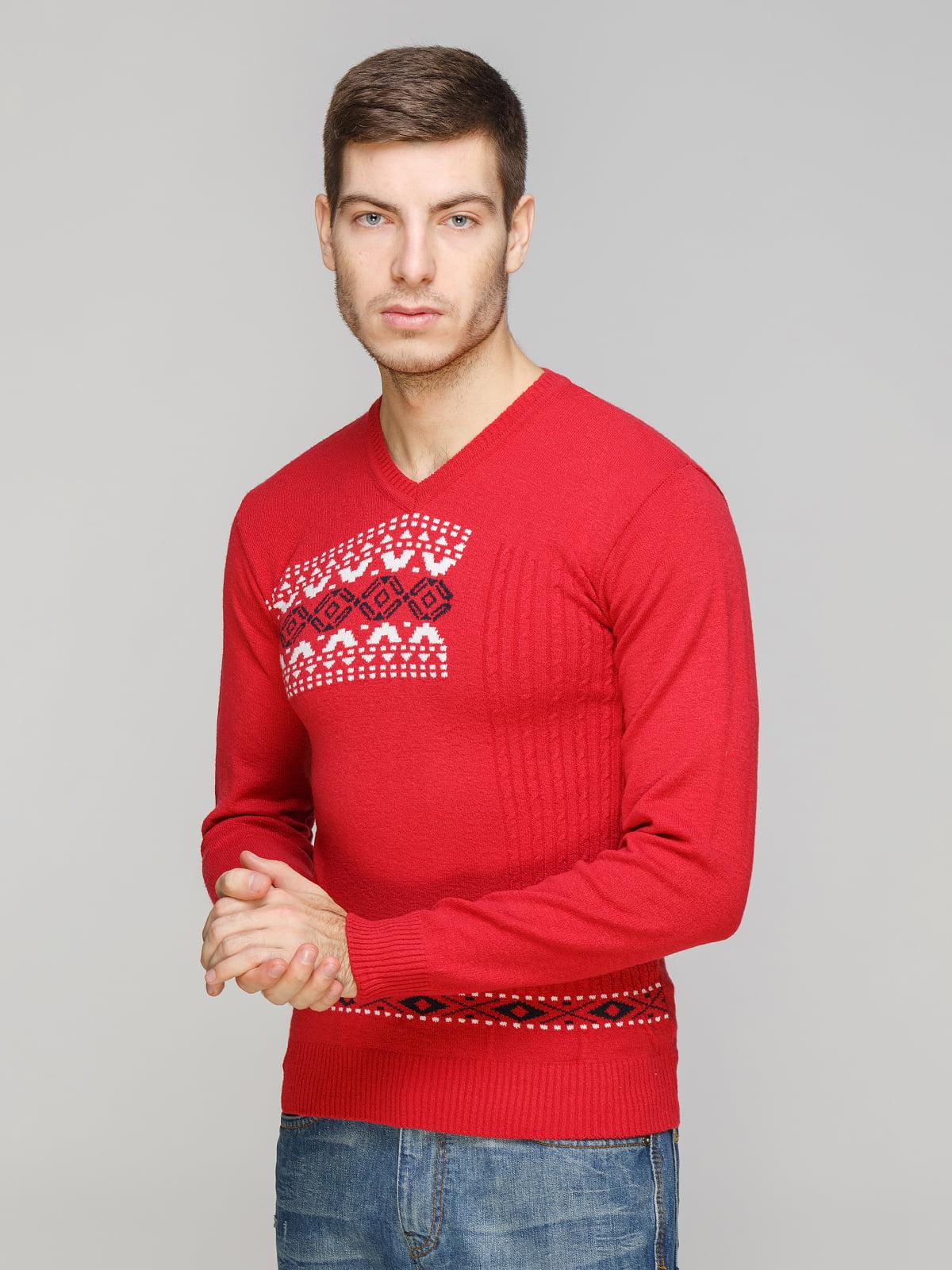 Пуловер коралловый | 5254876