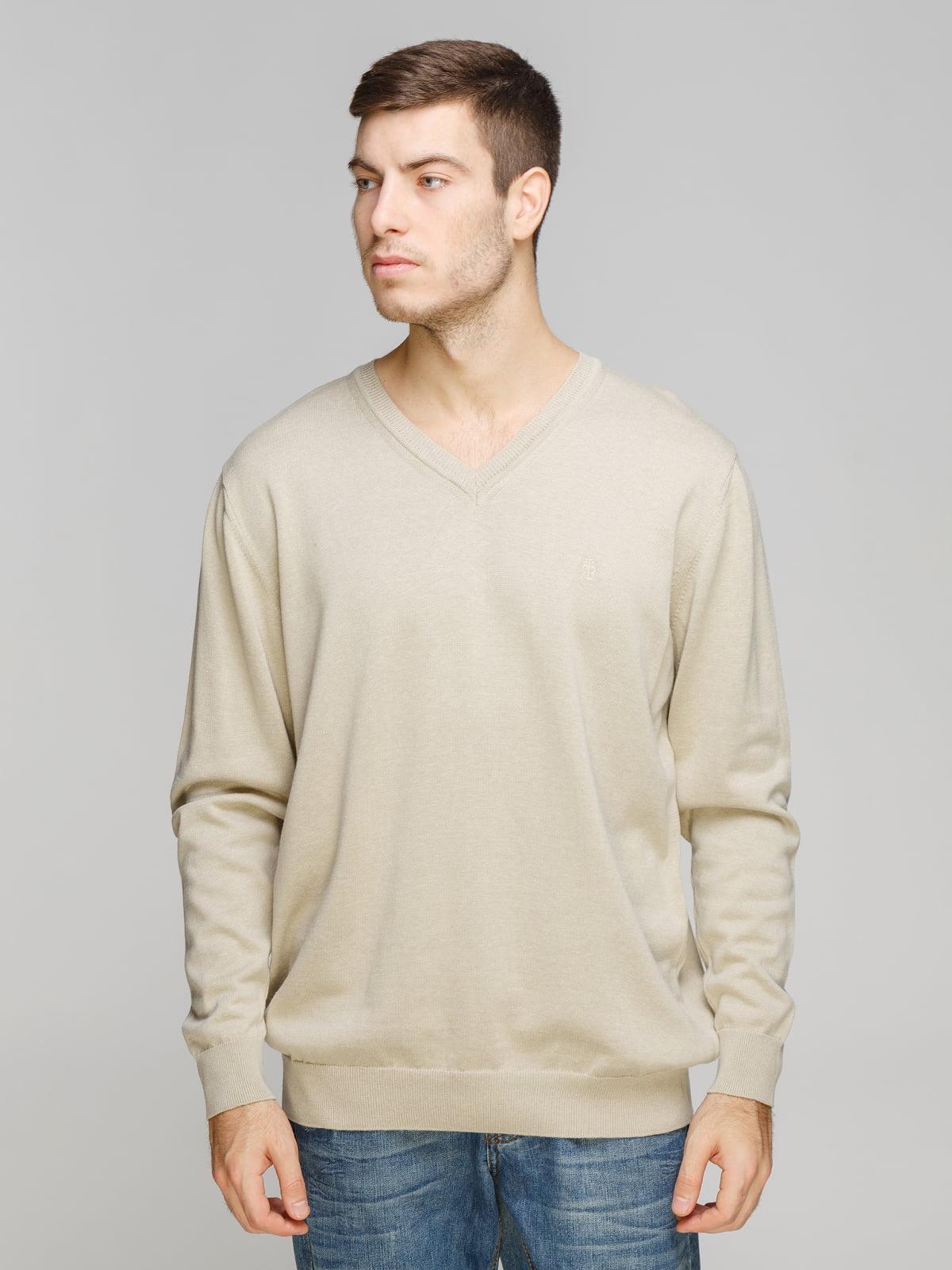 Пуловер бежевый | 5254932