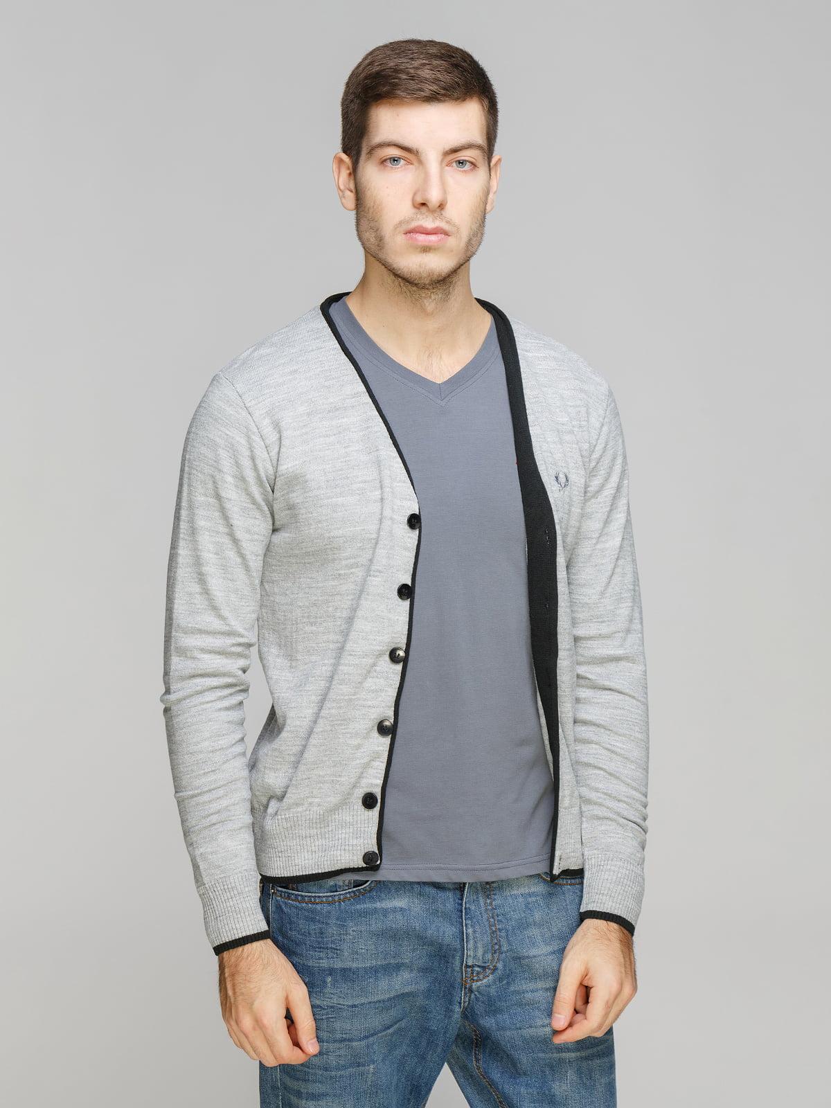Кардиган светло-серый   5254920