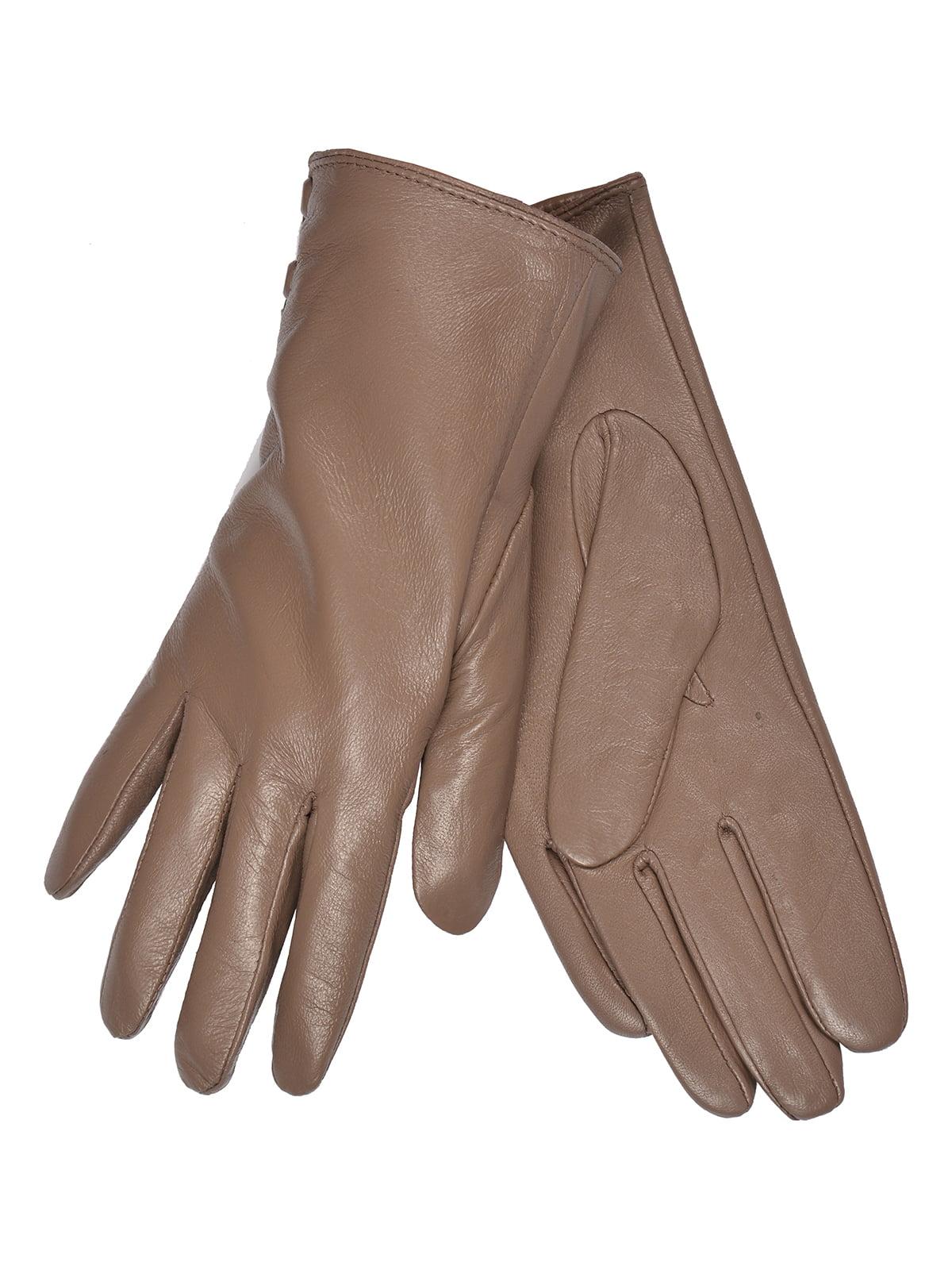 Перчатки коричневые   5258580