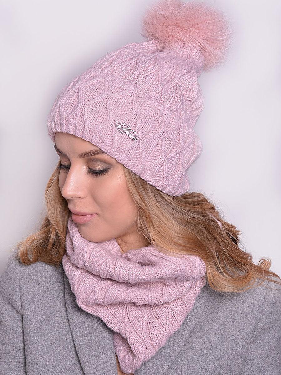 Комплект: шапка і шарф | 5259064