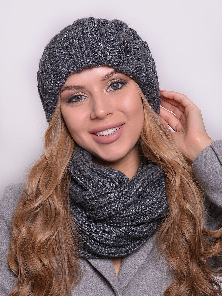 Комплект: шапка і шарф-снуд   5259067