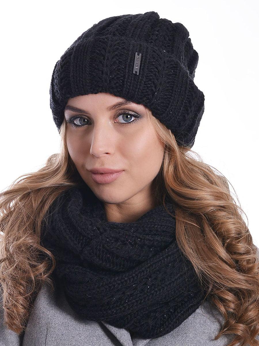Комплект: шапка і шарф-снуд | 5259068