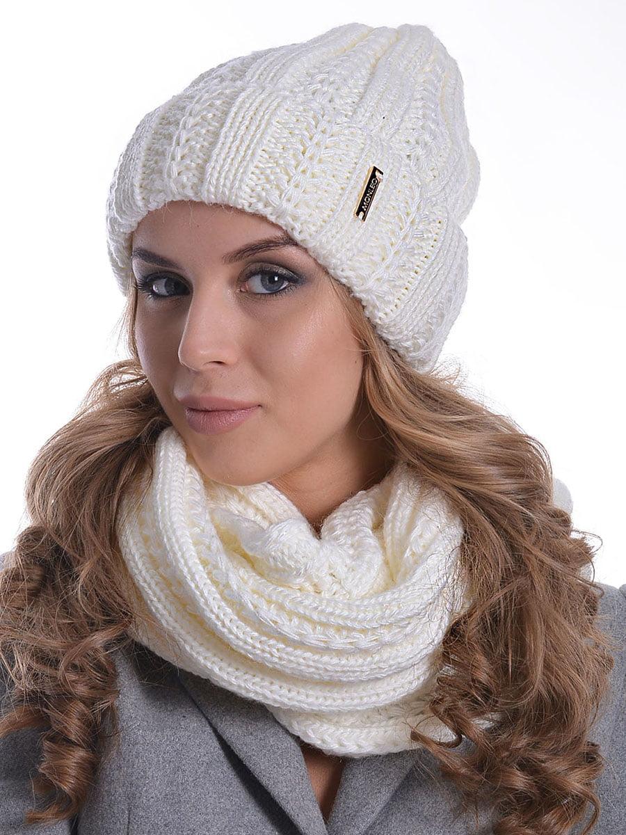 Комплект: шапка і шарф-снуд   5259069