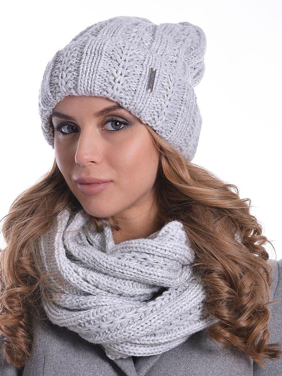 Комплект: шапка і шарф-снуд | 5259071