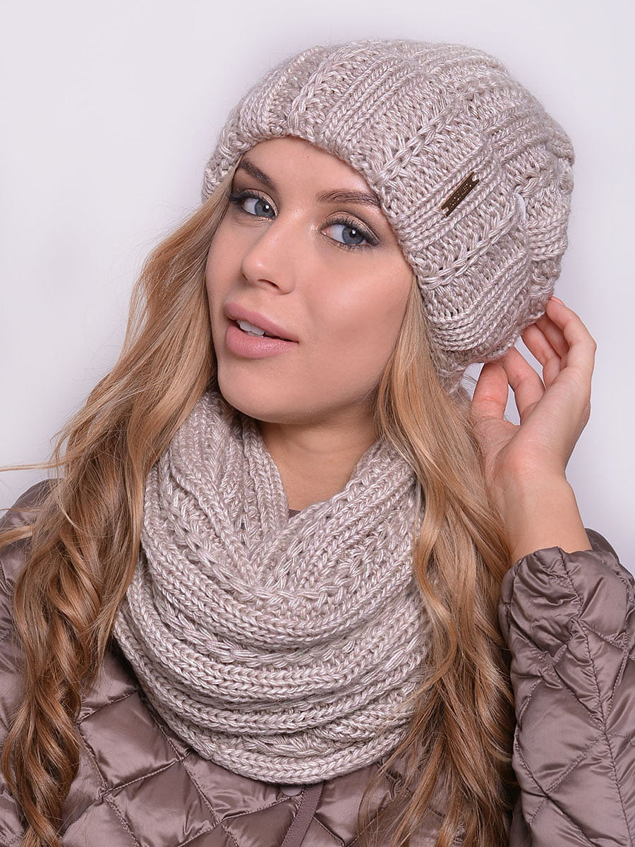 Комплект: шапка і шарф-снуд | 5259072