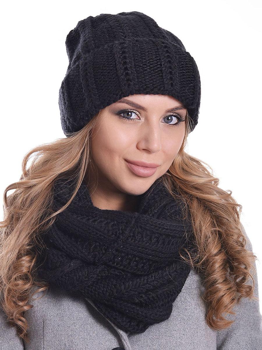Комплект: шапка і шарф-снуд   5259082