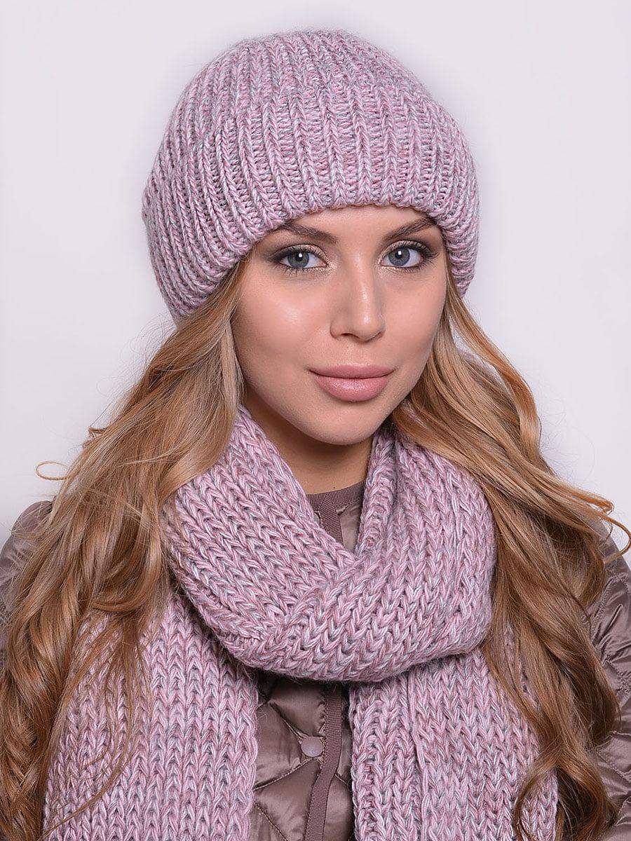 Комплект: шапка і шарф | 5259087