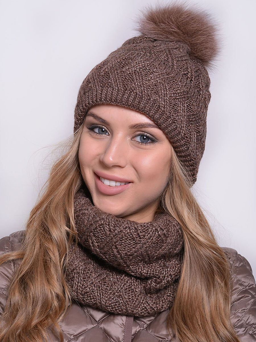 Комплект: шапка і шарф | 5259091