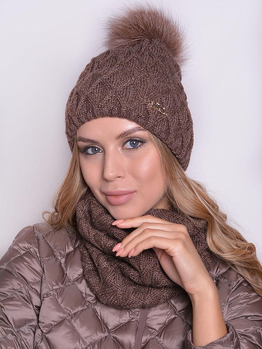 Комплект: шапка і шарф | 5259103
