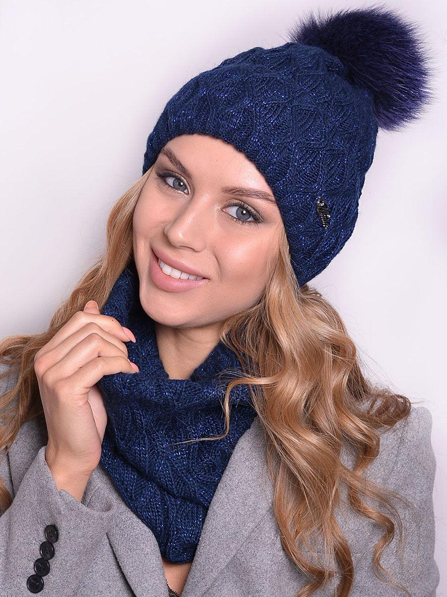 Комплект: шапка і шарф | 5259105