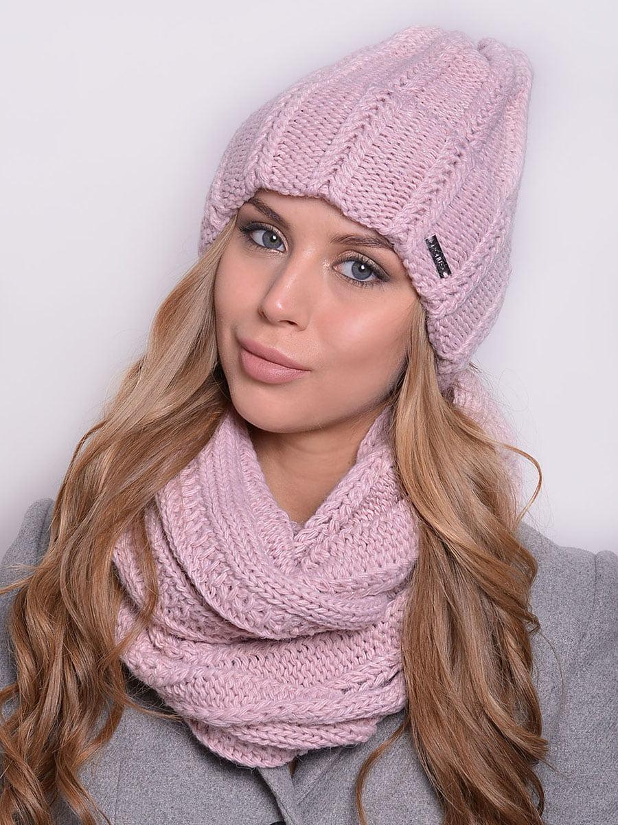 Комплект: шапка і шарф-снуд | 5259117