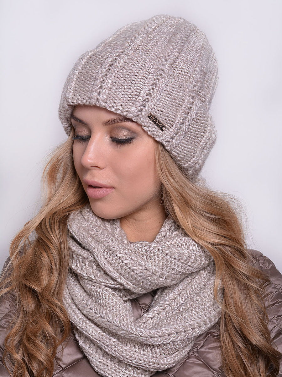Комплект: шапка і шарф-снуд | 5259120