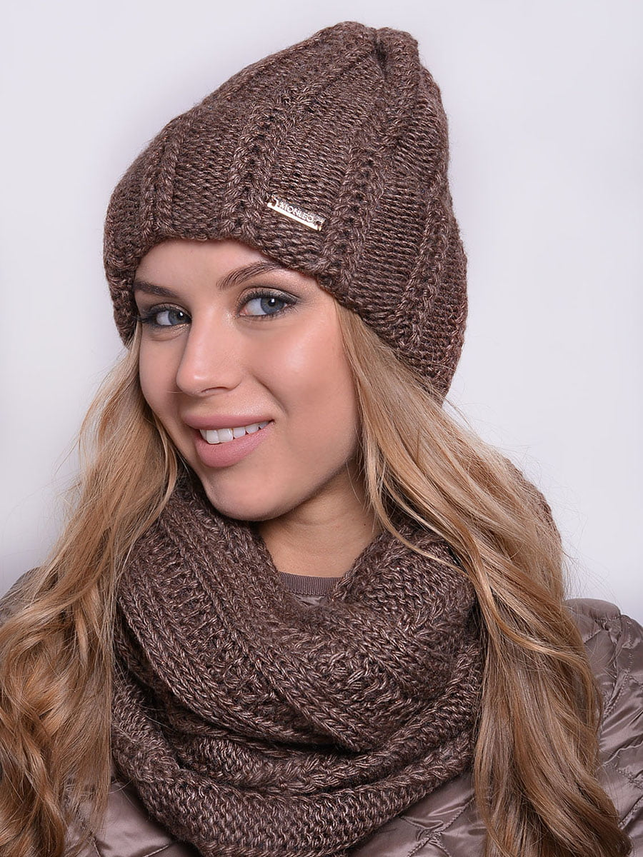Комплект: шапка і шарф-снуд | 5259122