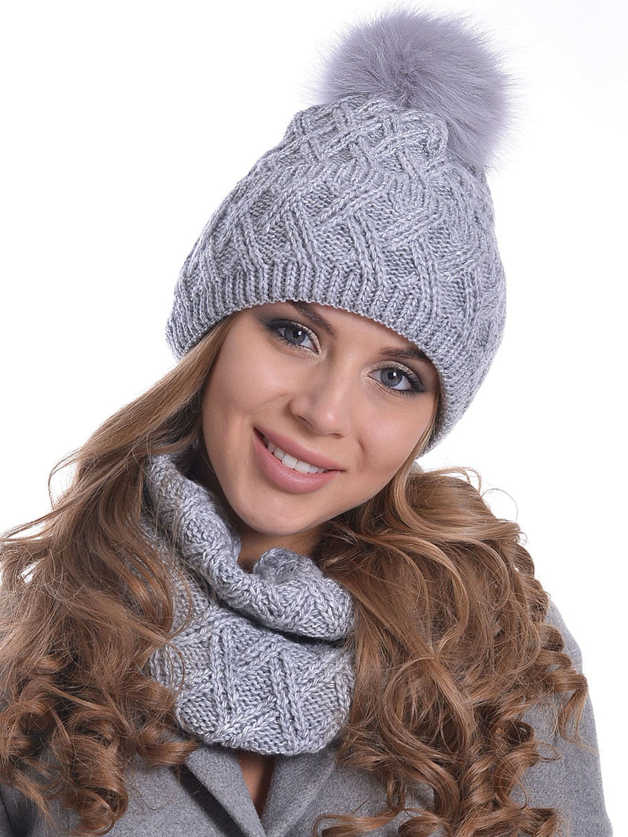 Комплект: шапка і шарф | 5259096