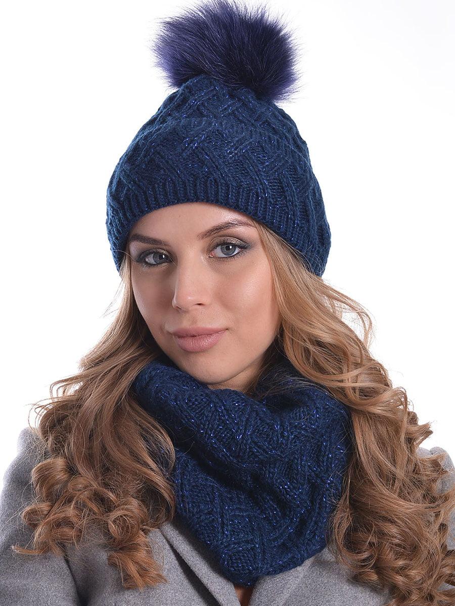 Комплект: шапка і шарф | 5259098