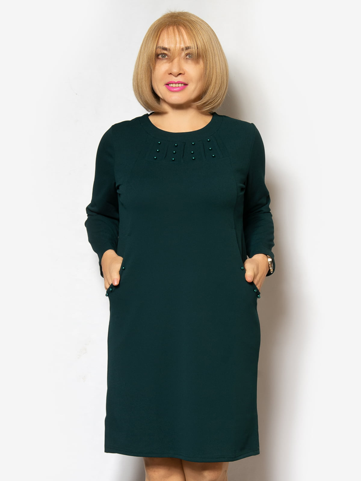 Сукня темно-зелена | 5262519