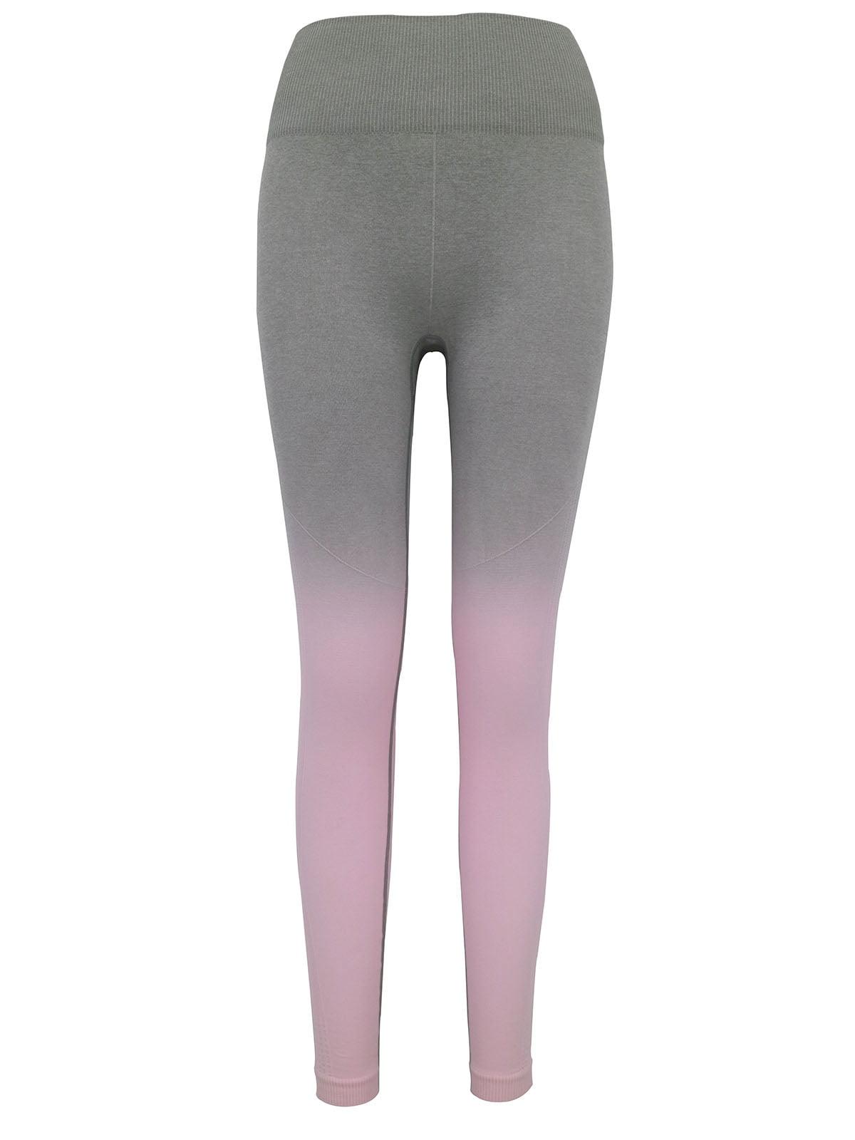 Легінси сіро-рожеві | 5263585
