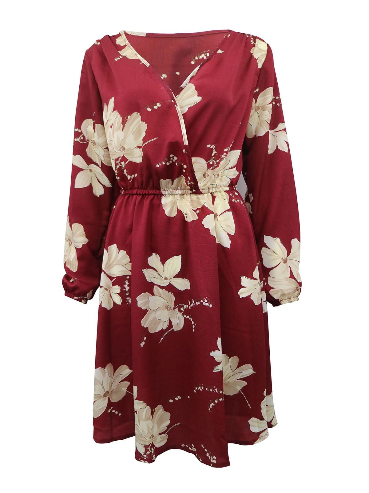 Сукня бордова в квіти   5263595