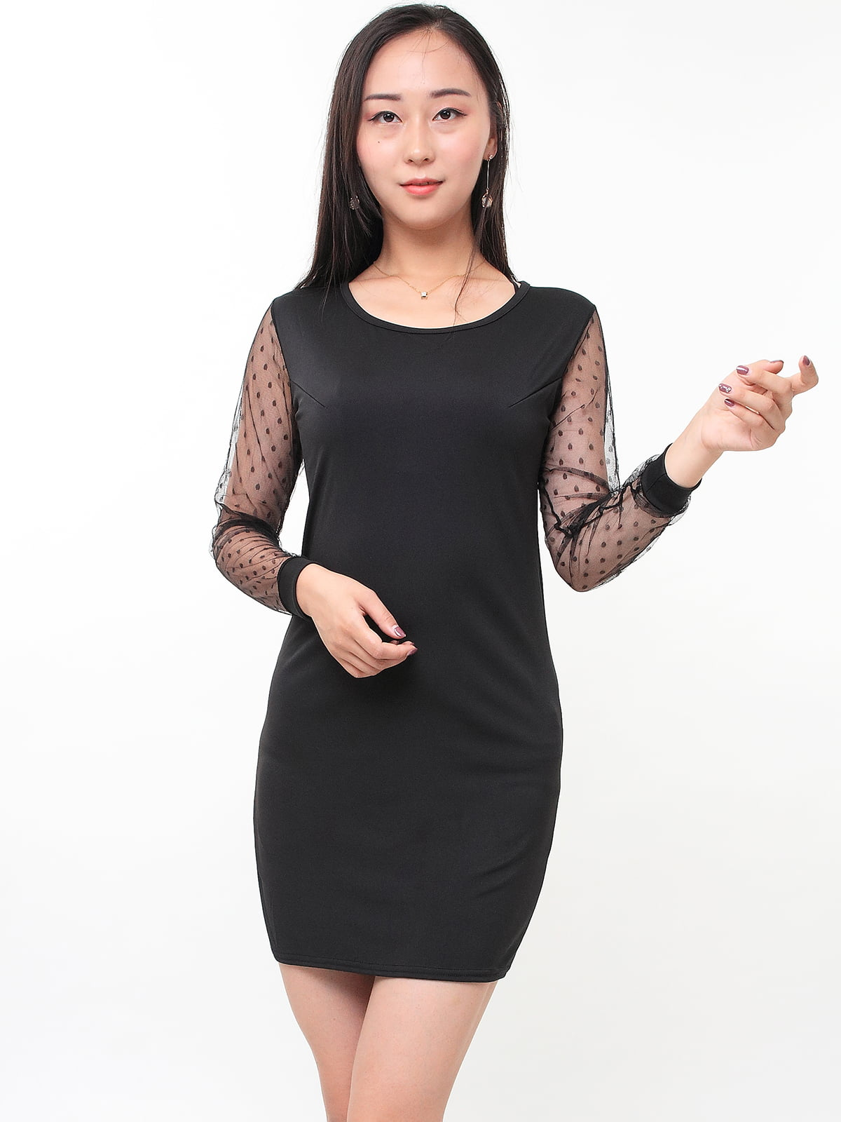 Платье черное | 5263643