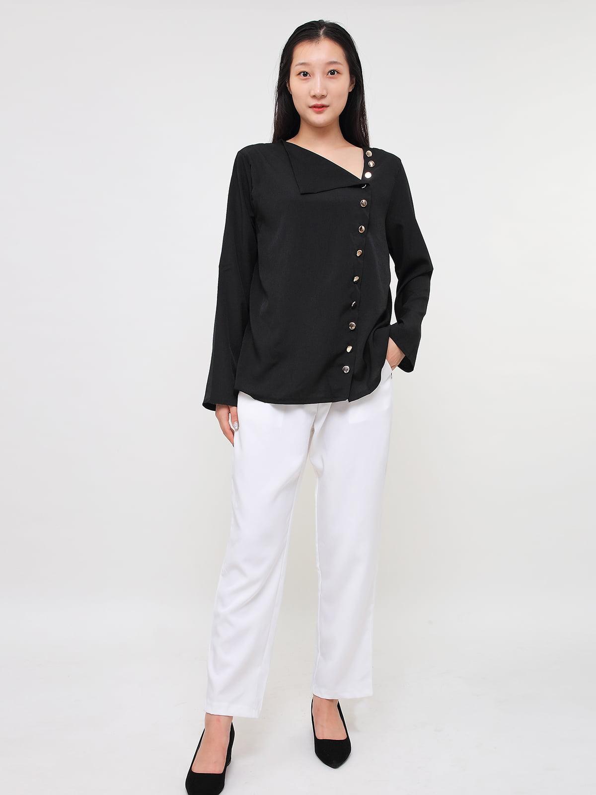 Блуза черная | 5263653