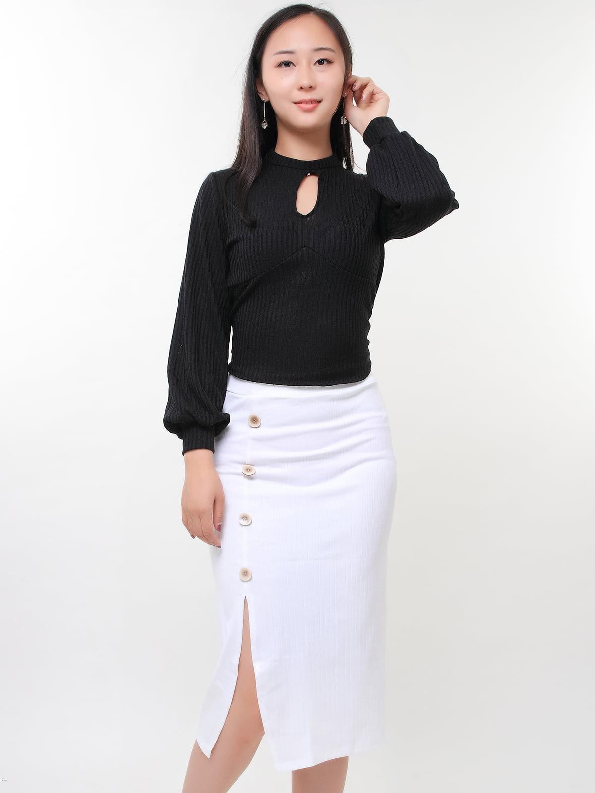 Блуза чорна   5263654