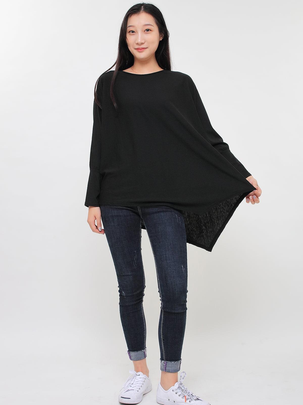 Блуза черная | 5263657