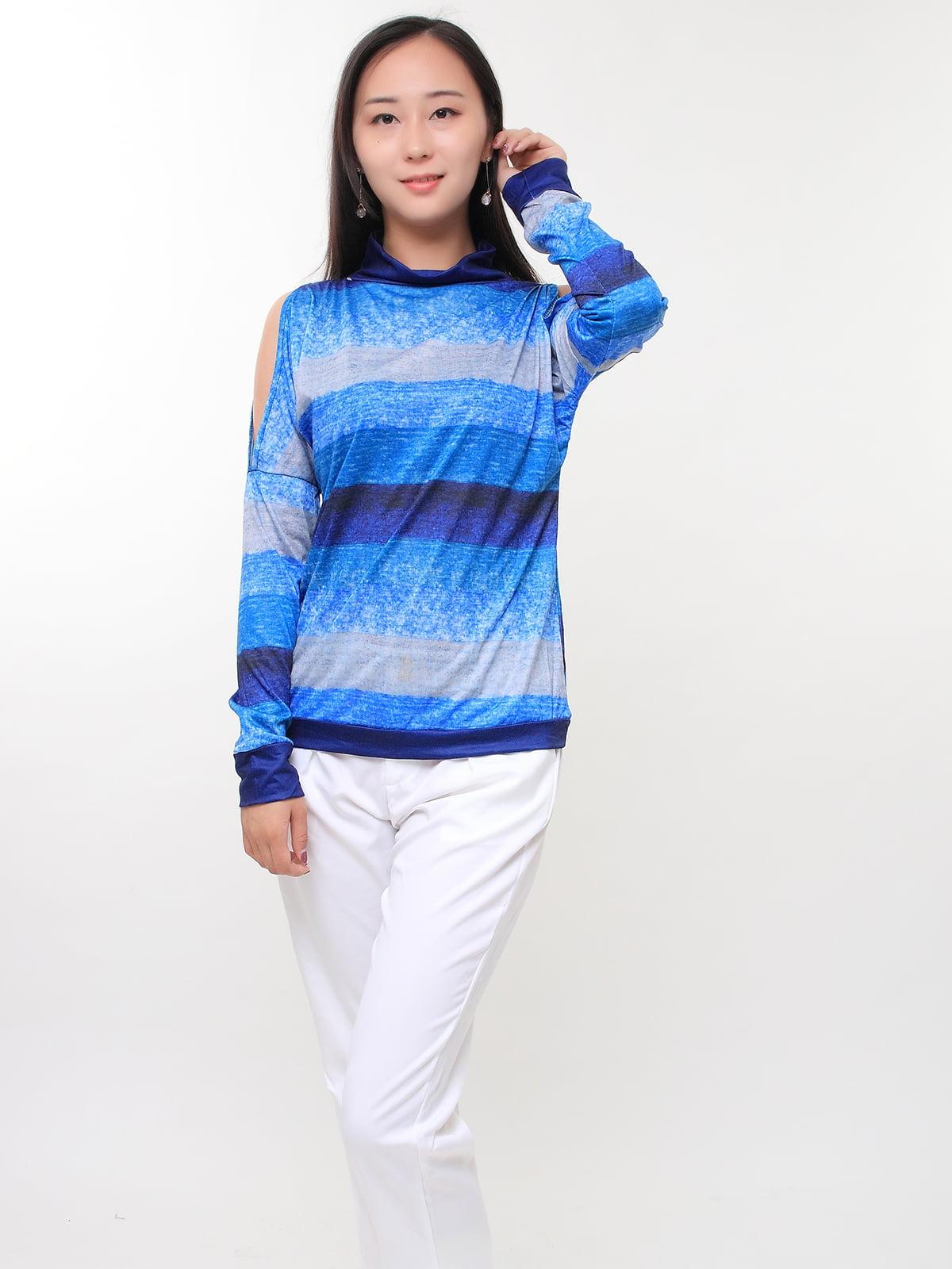Блуза синьо-блакитна | 5263662