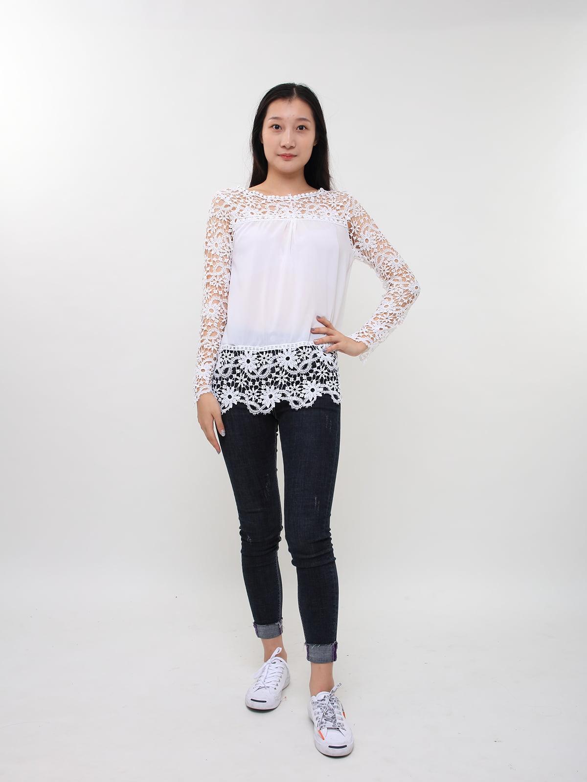 Блуза біла | 5263666