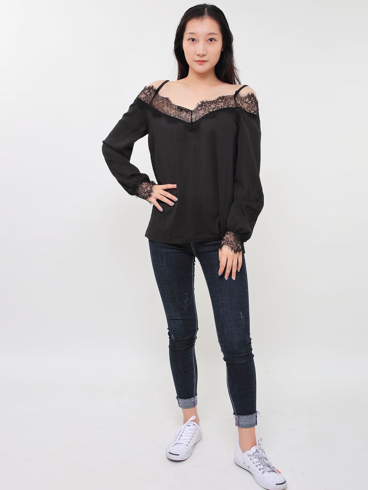Блуза черная | 5263667