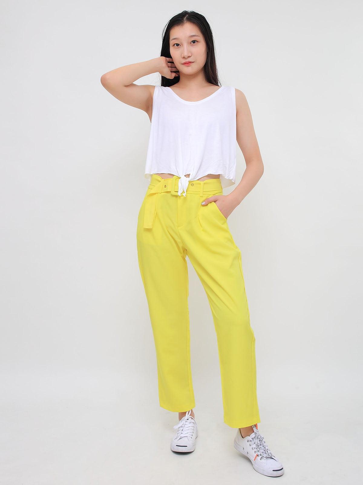 Штани жовті | 5263699