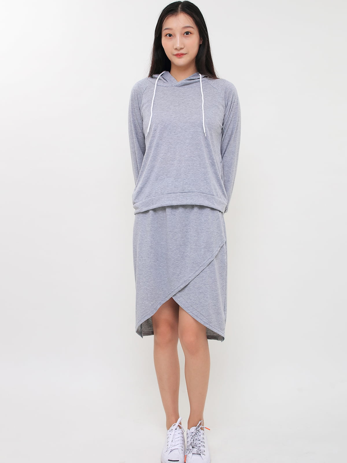 Комплект: толстовка и юбка | 5263711