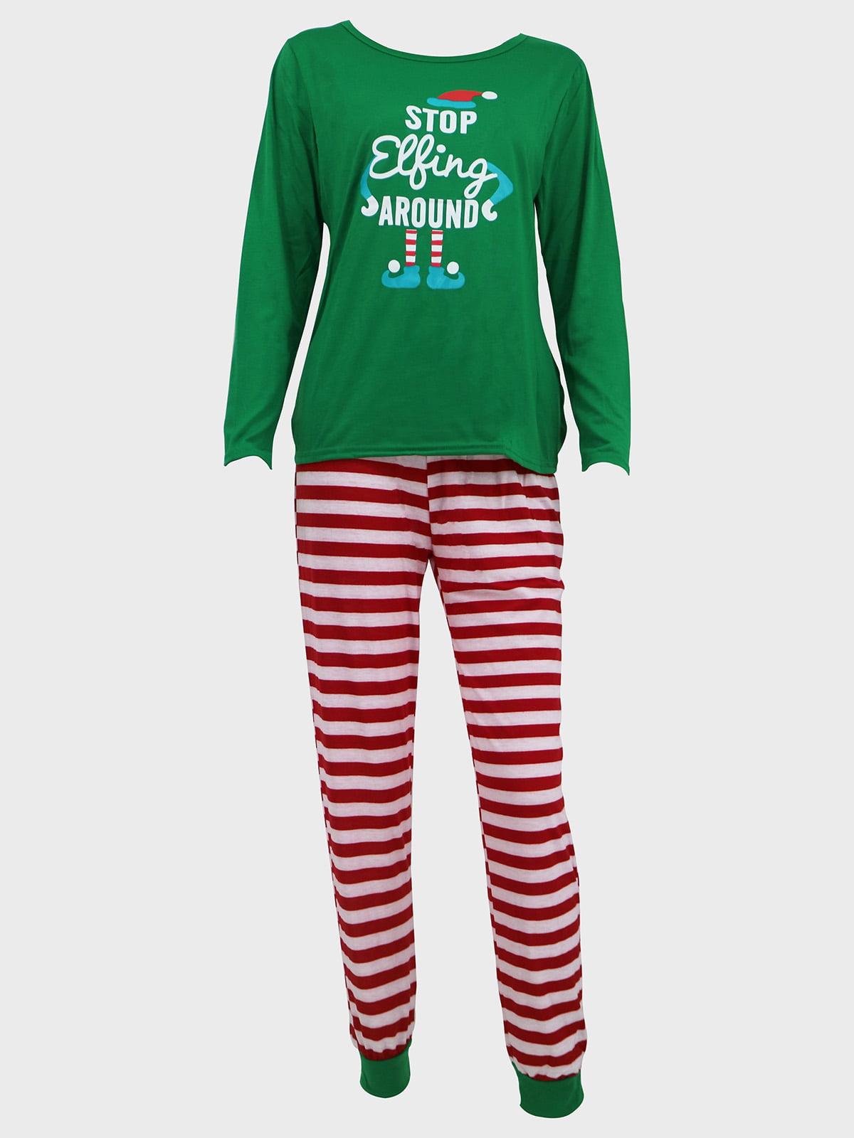 Новогодний комплект: блуза и брюки | 5263719