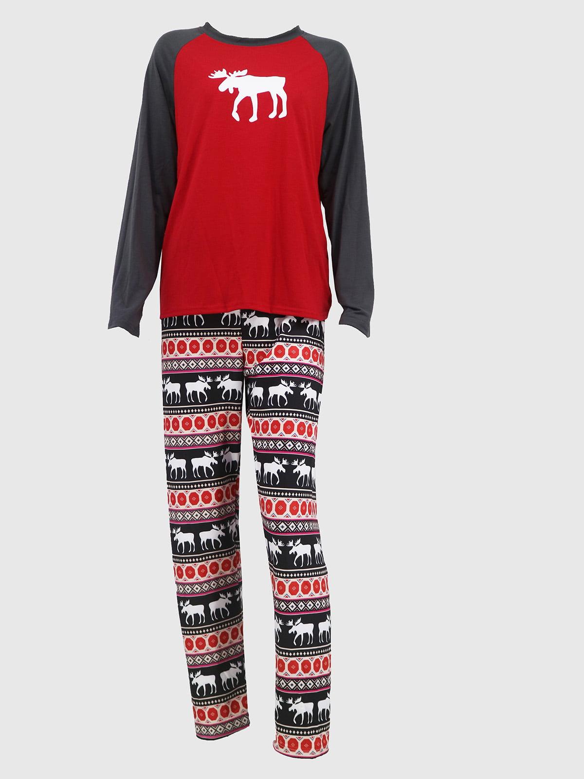 Новогодний комплект: блуза и брюки | 5263721