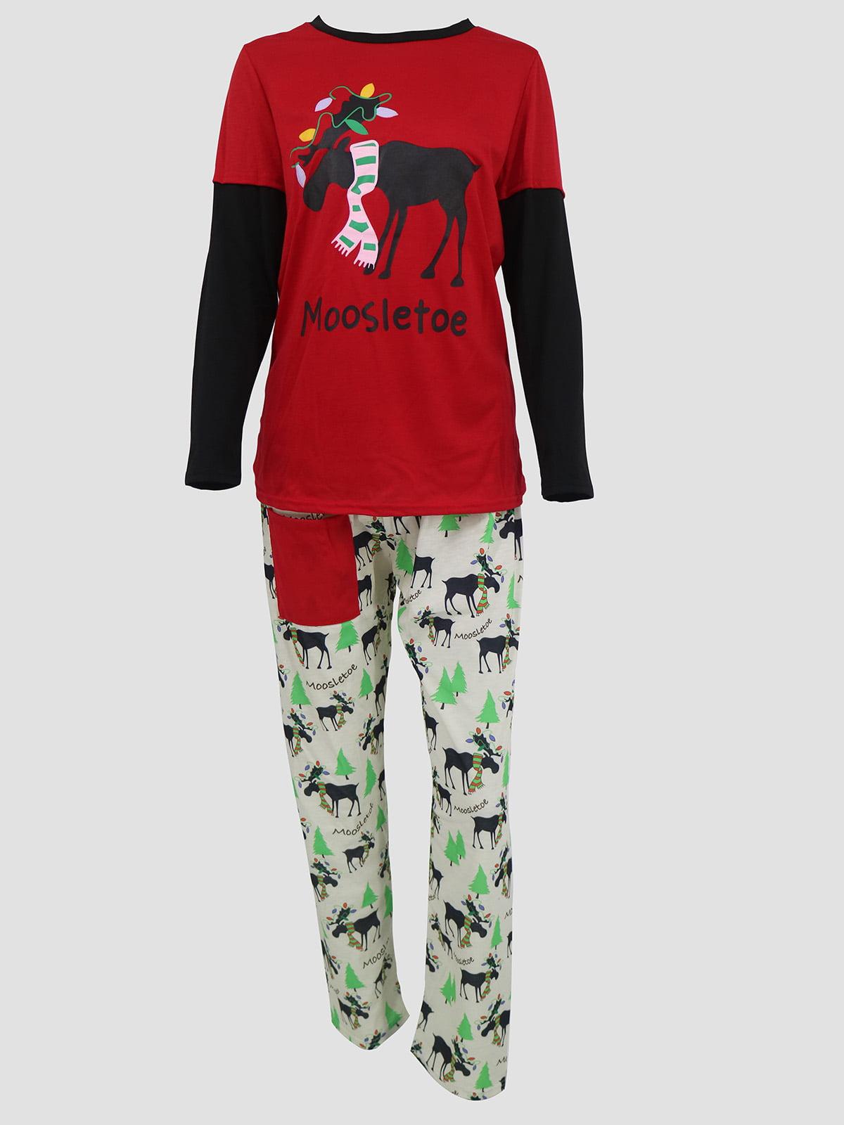 Новогодний комплект: блуза и брюки | 5263722
