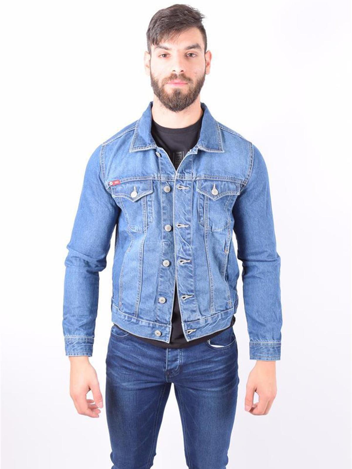 Куртка джинсова блакитна | 5164022
