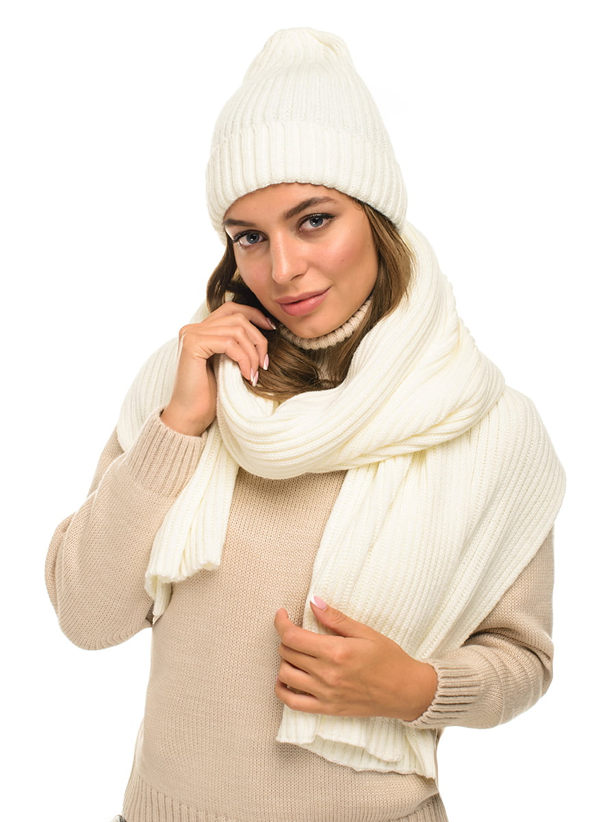 Комплект: шапка и шарф | 5256133