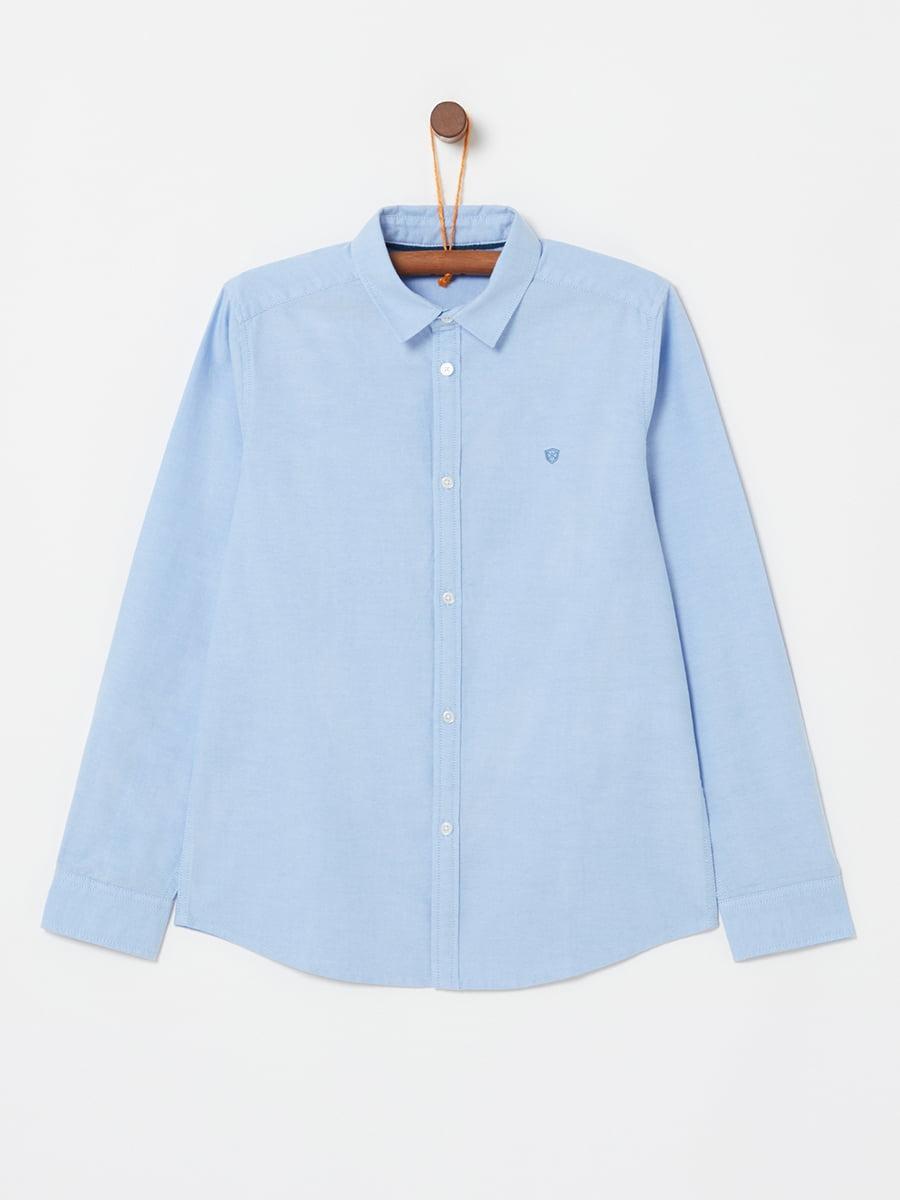 Рубашка голубая | 5229824