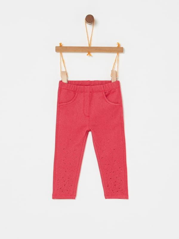 Штани червоні | 5183566