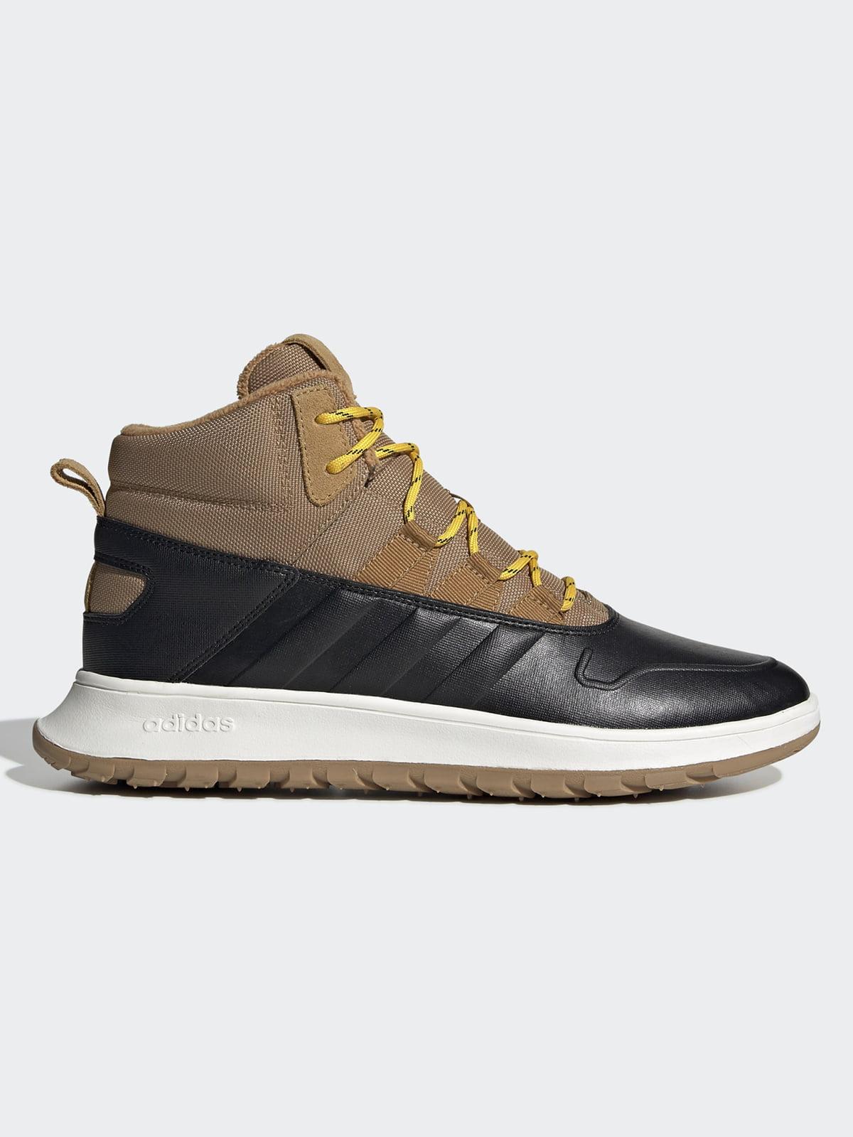 Кроссовки черно-коричневые | 5181069