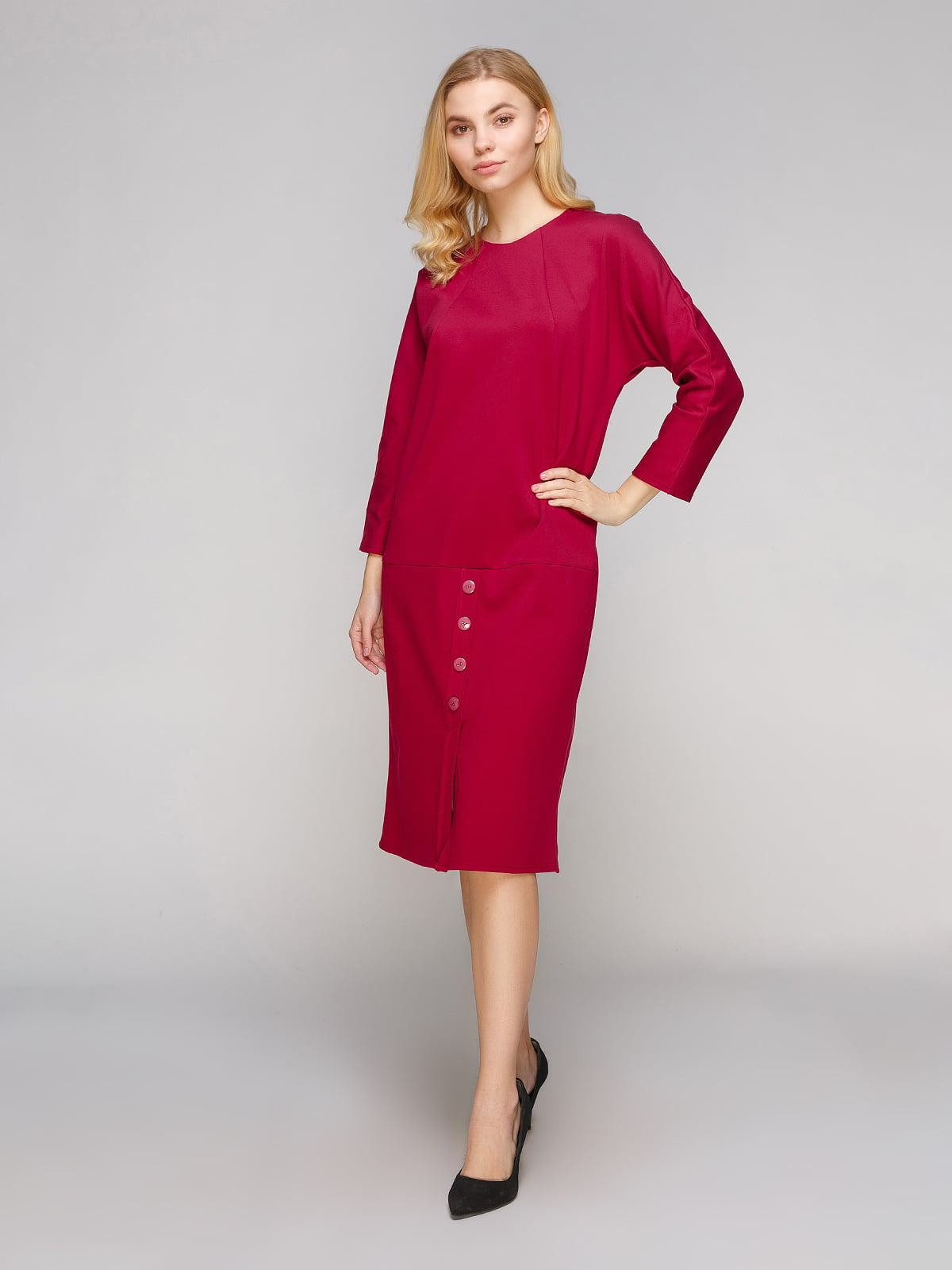 Сукня вишневого кольору   5263855