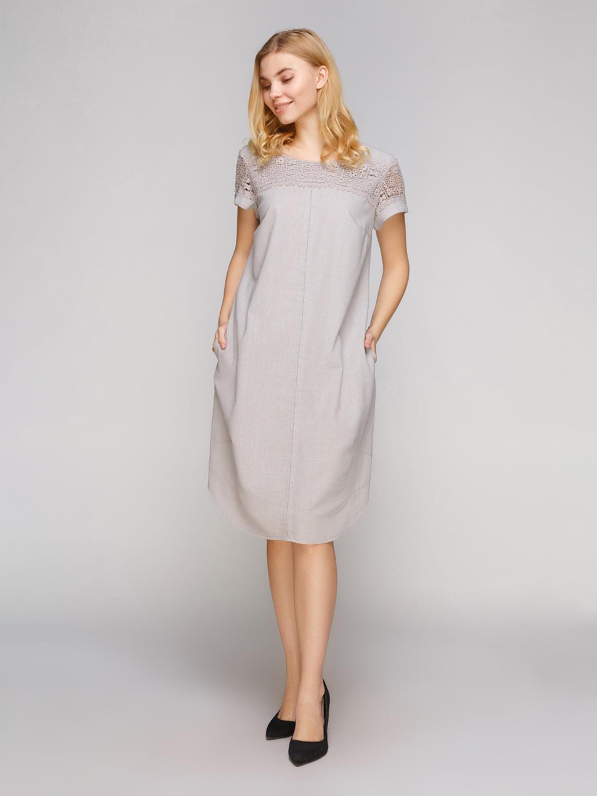 Сукня сіра   5263880