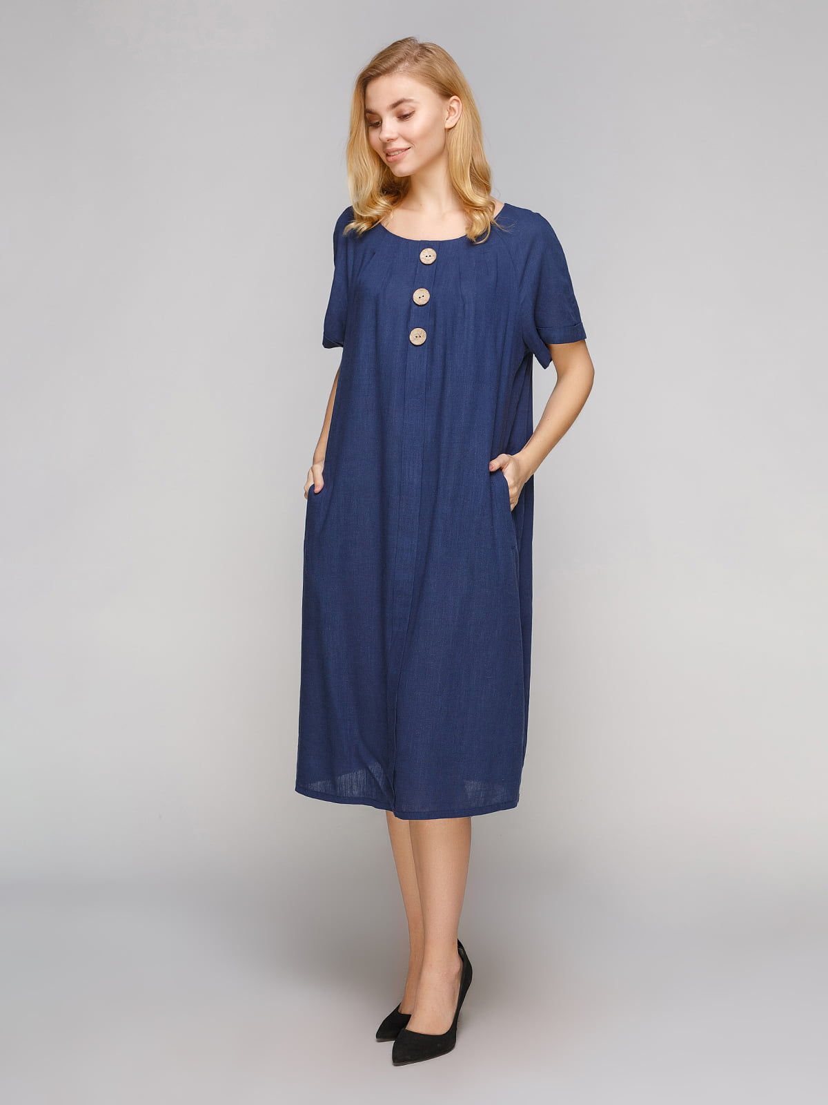Сукня темно-синя | 5263870