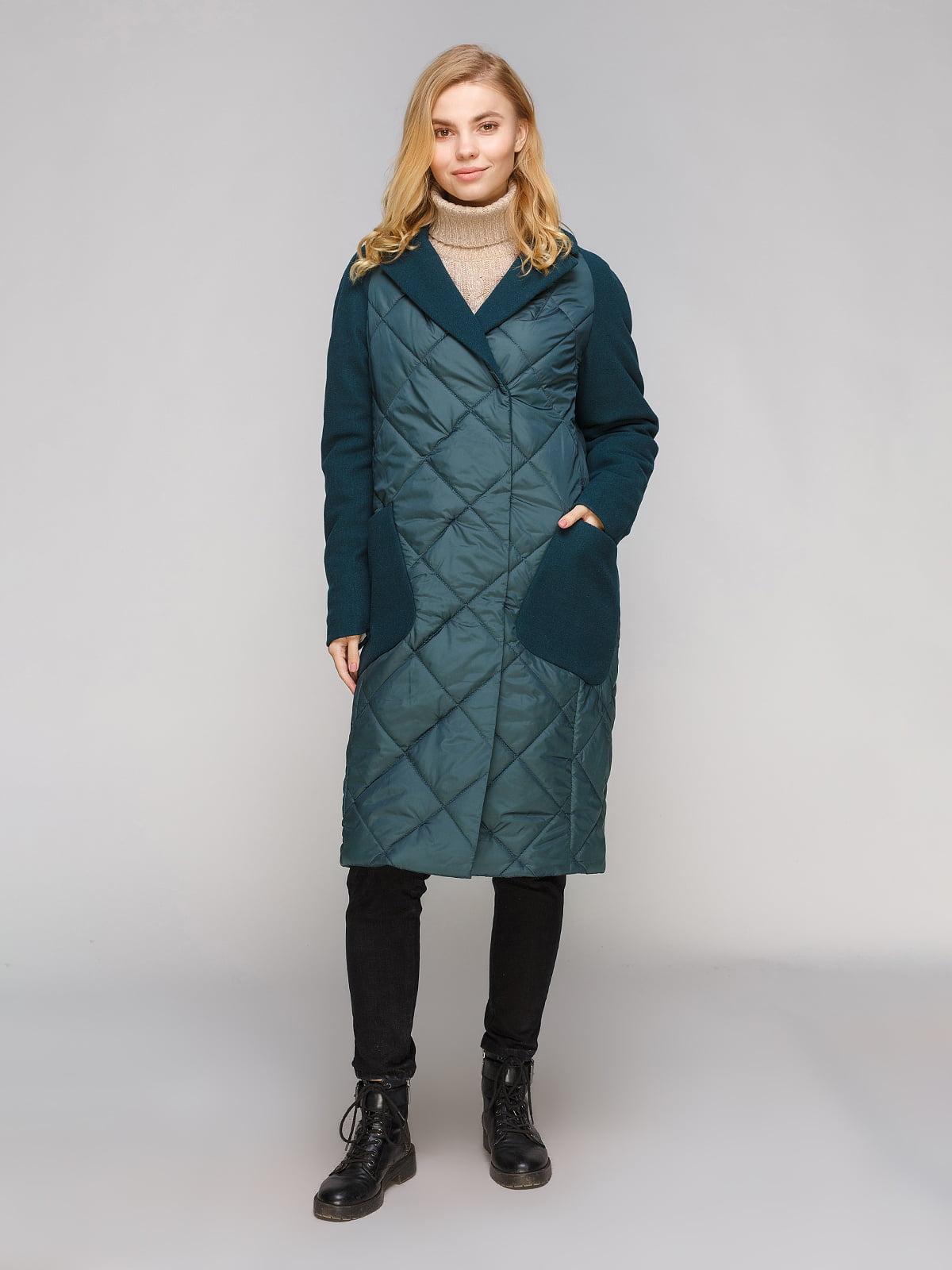 Пальто зеленое | 5263895