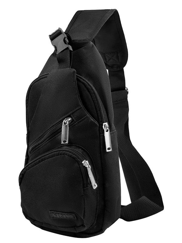 Сумка-рюкзак чорна   5265962