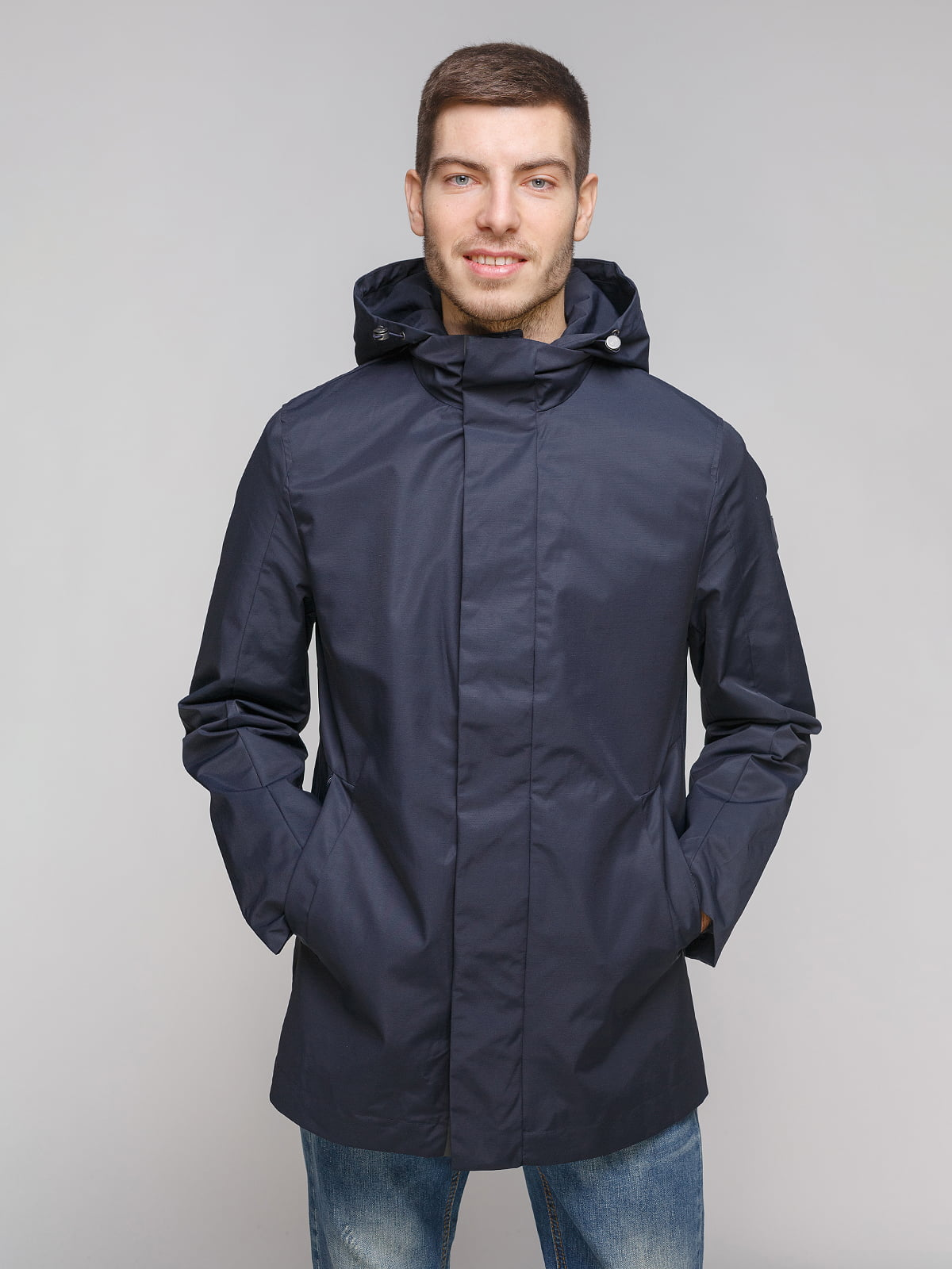 Куртка темно-синя | 5262385