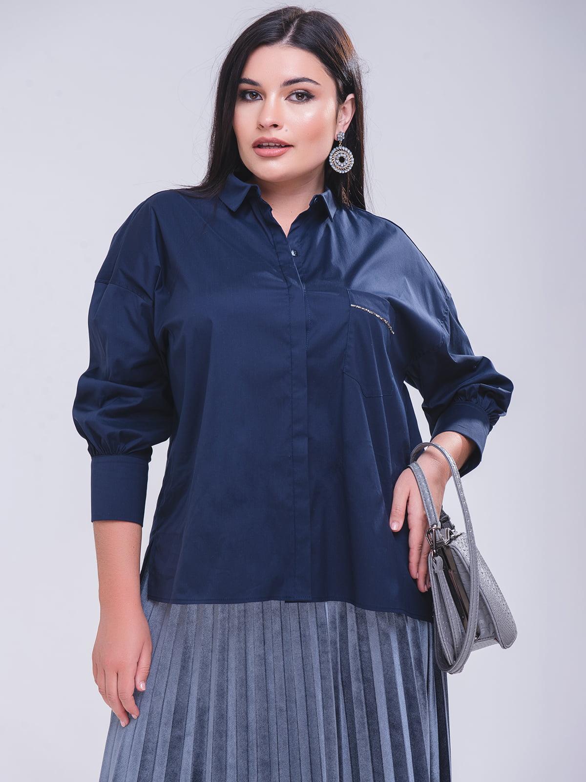 Блуза синя   5267272