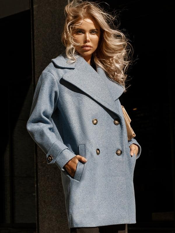 Пальто голубое | 5246527